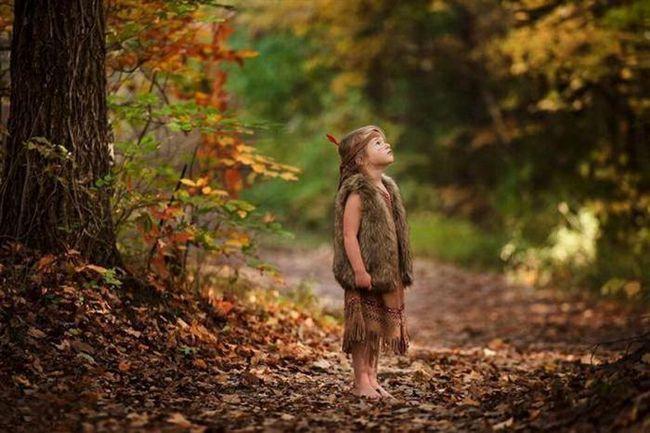 13 Способов сделать классные фотографии детей на хэллоуин