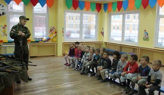 23 февраля спортивный праздник в детском саду