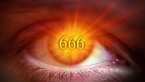 почему именно 666 число дьявола