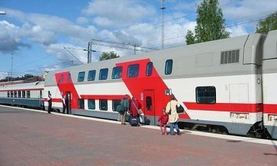 двухэтажный поезд москва адлер
