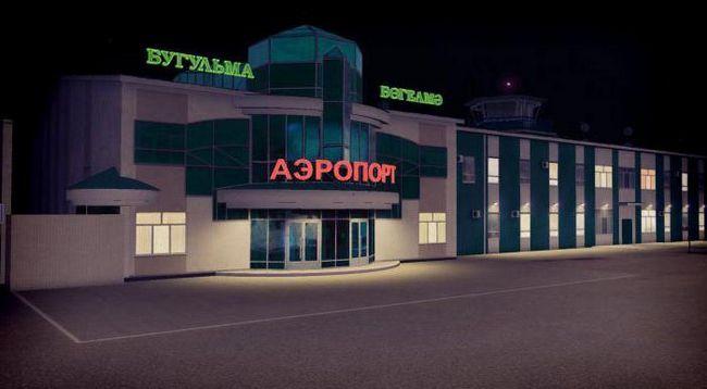 аэропорт г бугульма