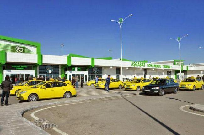 новый аэропорт ашхабада
