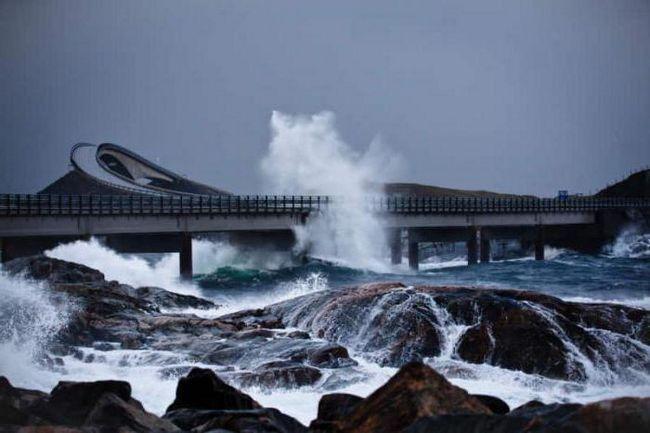 атлантическая дорога норвегия отзывы