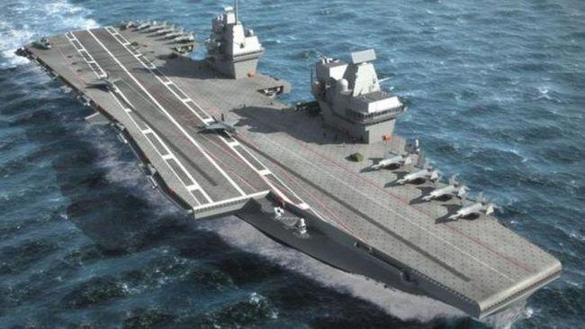 авианосцы проекта 23000э