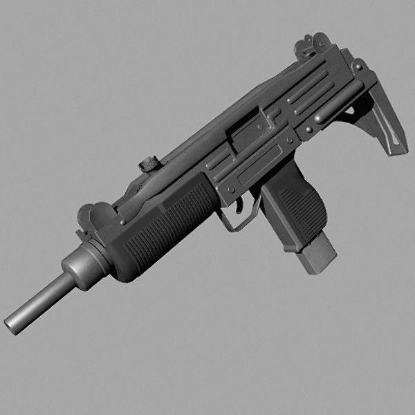 Пистолет автомат УЗИ