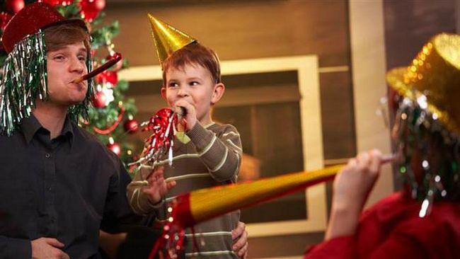 новогодний детский бал
