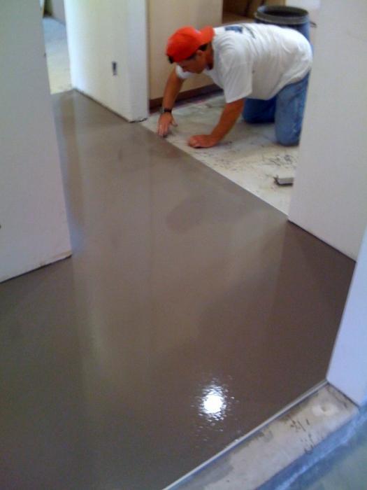 бетонные полы своими руками