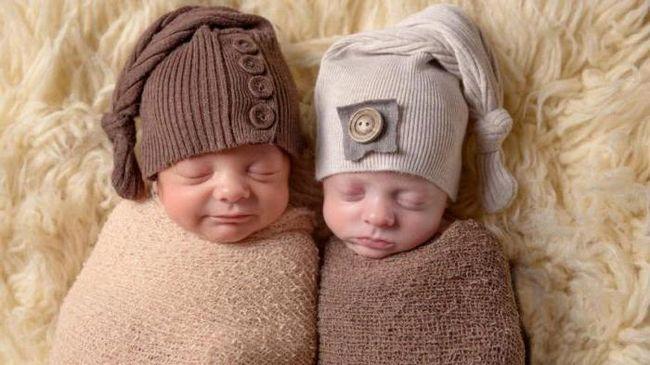близнецы разнояйцевые