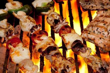 Блюда на мангале – удовольствие на природе
