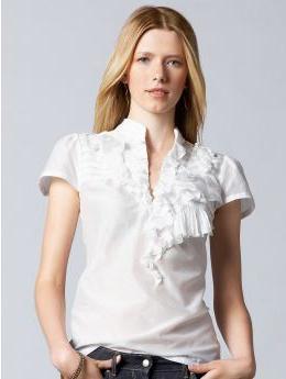 Блузки с коротким рукавом – модно, женственно, красиво