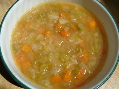 Бонский суп «сжигает» 8 килограмм!