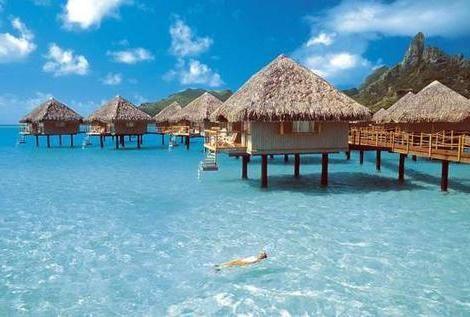 Бора-бора - острова дивной красоты