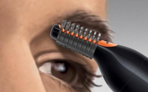 veet бритва для бровей
