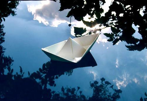 Бумажные кораблики для ребенка