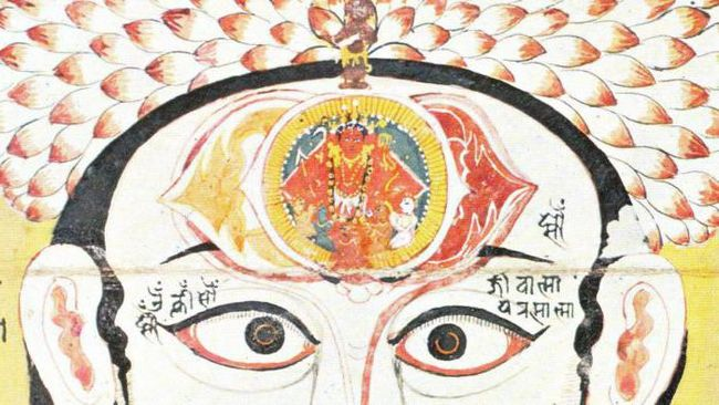 чакра третьего глаза цвет