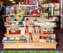 торговое оборудование для детского магазина