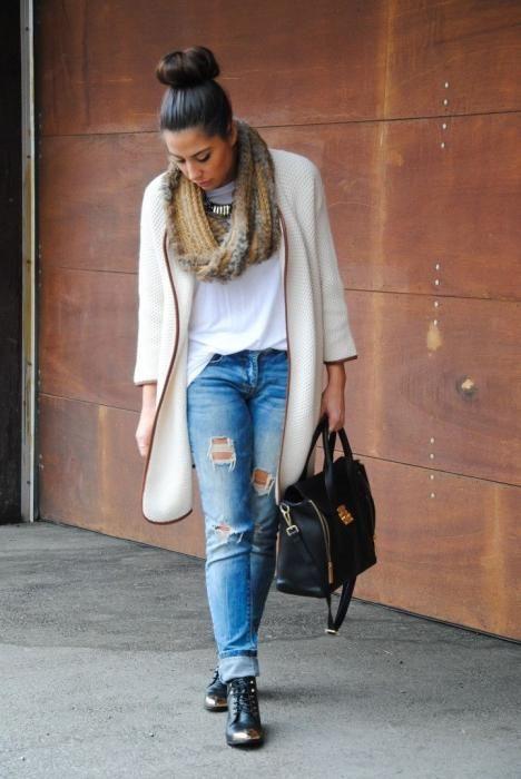какую обувь одеть с джинсами