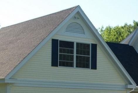Что собой представляют фронтоны крыши