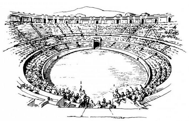Что такое амфитеатр в театре