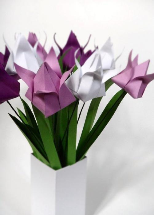 Цветки из бумаги своими руками - создаем вечный букет