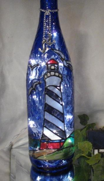 Декорирование бутылки как хобби и искусство