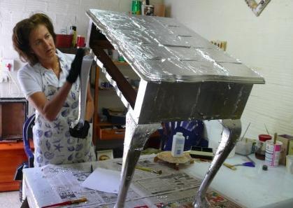 декупаж мебели своими руками