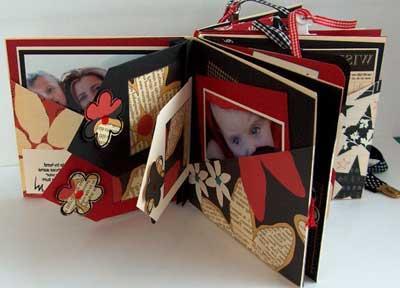 Делаем альбом для новорожденного своими руками: основы скрапбукинга