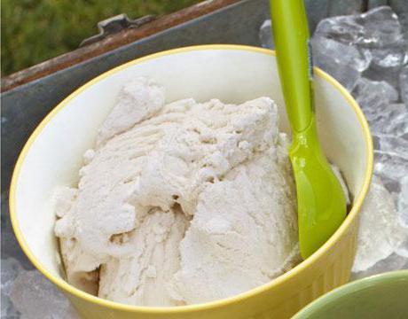 простое мороженое