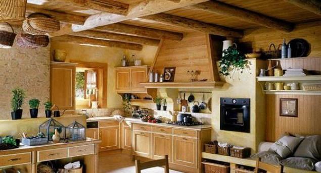 Деревенский стиль в интерьере – простота и функциональность