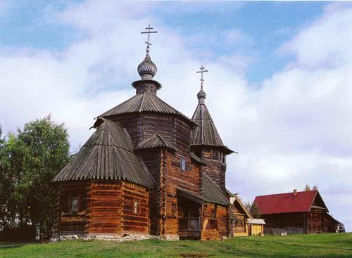 деревянное зодчество древней руси