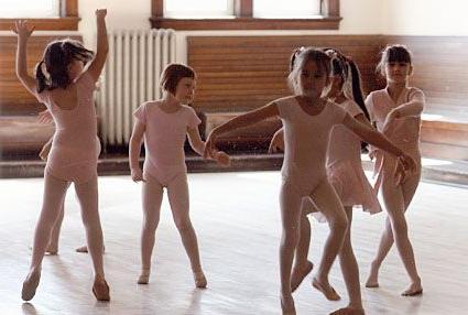 детские танцы движения