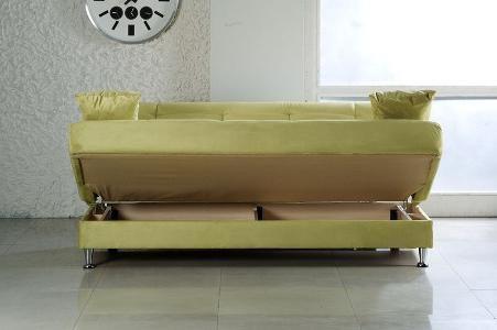 диван аккордеон с ящиком
