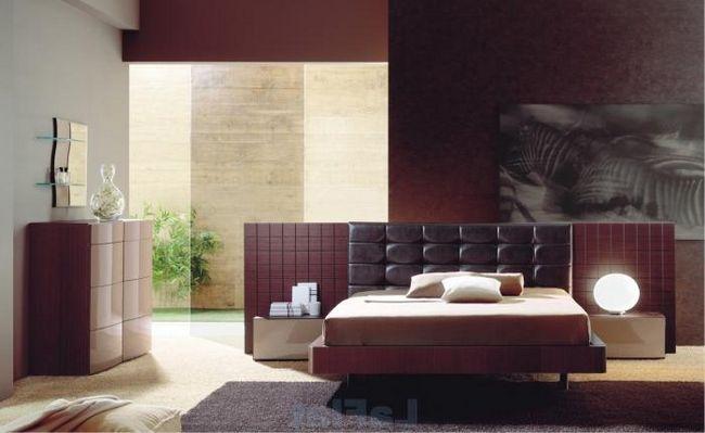 Дизайн спальни в современном стиле: правила гармонии