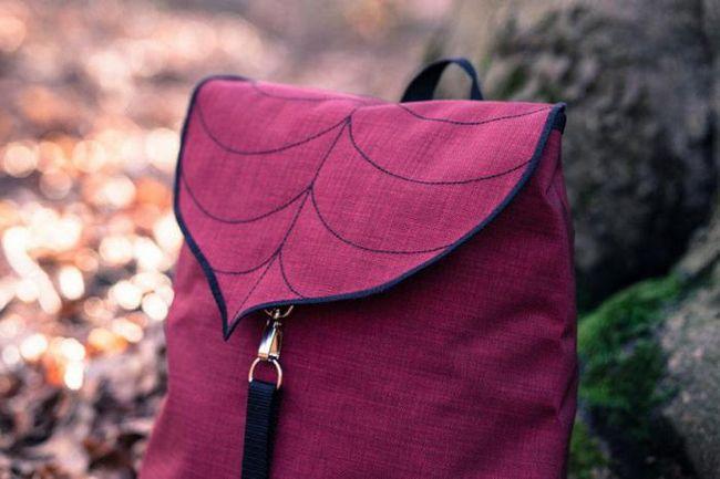 Дизайнер, вдохновленный красотой листьев, создает оригинальные сумки