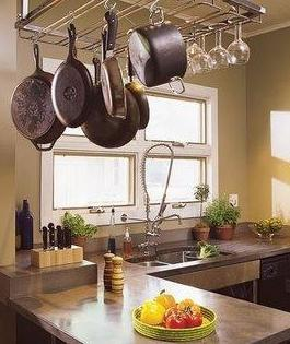 Дизайны малогабаритных кухонь - стильные решения