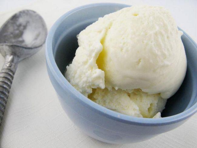 Домашнее мороженое вкус советского пломбира