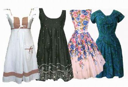 Домашнее платье – красота повседневности