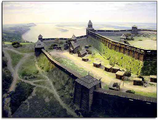 возникновение городов в древней руси