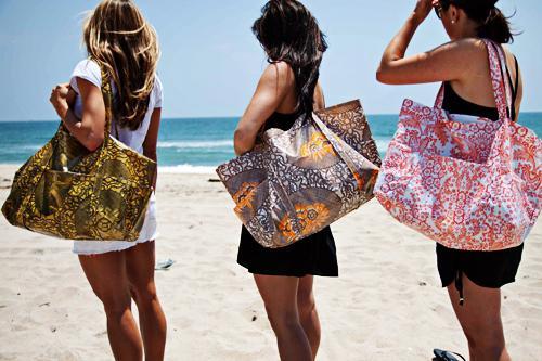 Две пляжные сумки. Своими руками создаем красоту