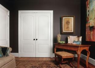 Двойные двери – лучшее решение для широких проемов