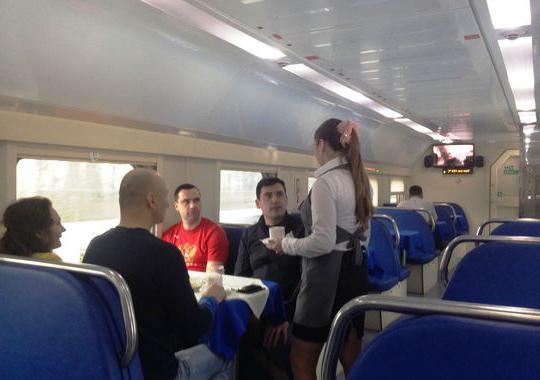 двухэтажный поезд москва адлер фото