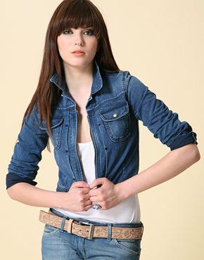 Джинсовые пиджаки - универсальная мода
