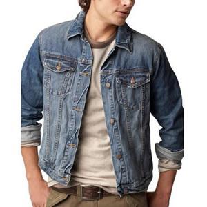 Джинсовый пиджак мужской