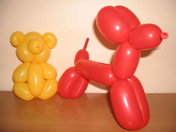 Фигурки из шаров своими руками