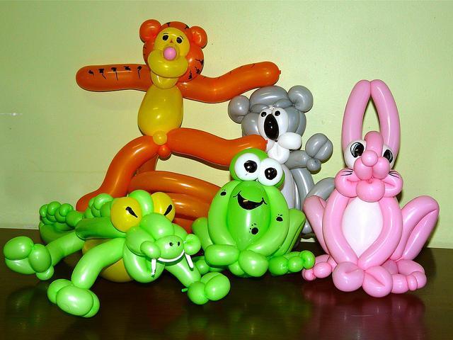 Фигуры из шаров – удивительные вещи своими руками