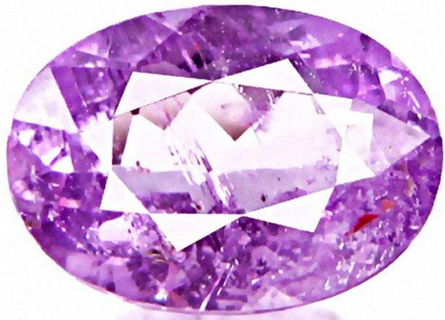 фиолетовые драгоценные камни