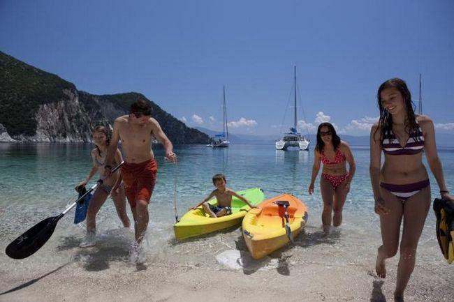 Где лучше отдохнуть с детьми в греции на средиземном море?