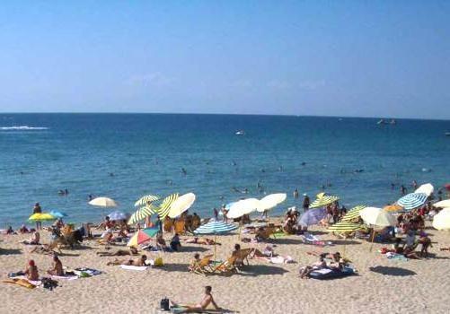 песчаные пляжи черного моря россия