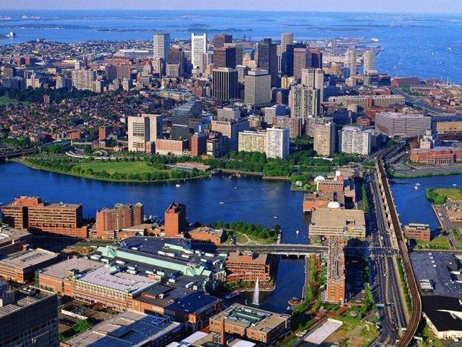где находится Бостон