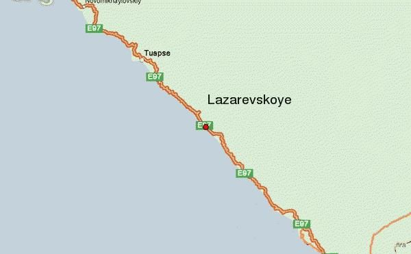 где находится лазаревское